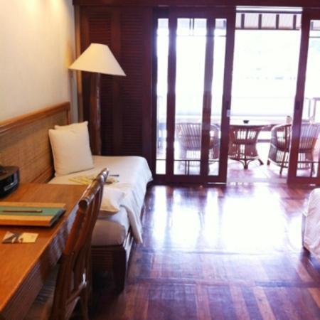 El Nido Resorts Lagen Island: 部屋の入り口から