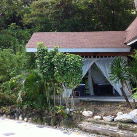 El Nido Resorts Lagen Island: マッサージカバナ