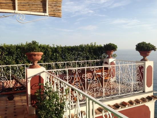 Le Sirenuse Hotel: バルコニー