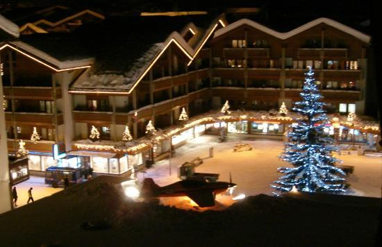 "Zermatt Holidays: from balcony ""Nina"" Christmas time"