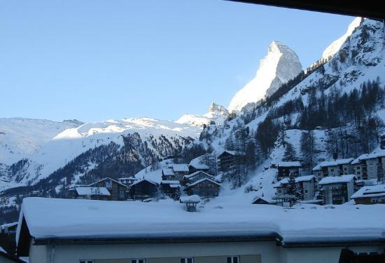 Zermatt Holidays: from apartm. Nina in Januari
