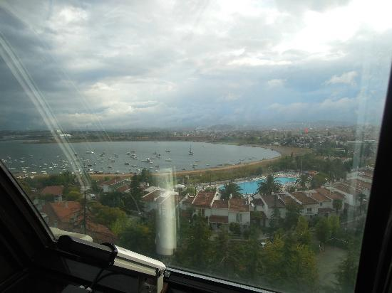 Paradise Island Hotel Bayramoglu: Panorama sullla baia