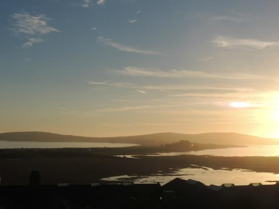 Bodega Bay Lodge: Sunrise from our balcony