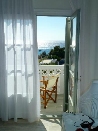 Aphrodite Beach Hotel: panorama dalla camera