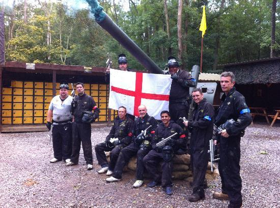 Delta Force Paintball: 27/9/12 fantastic day