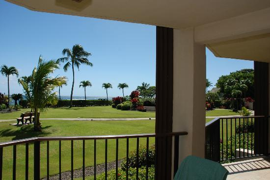 Lawai Beach Resort: View from Lanai .