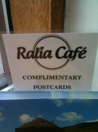 Ralia Cafe : Postcards