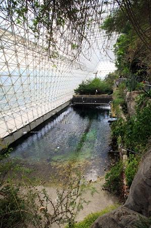 Biosphere 2: Salt water ocean & beach