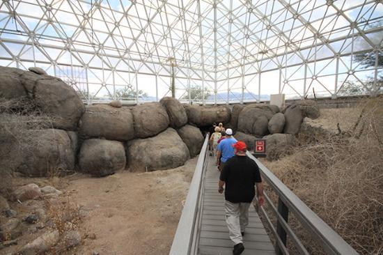 Biosphere 2: Disney boulders