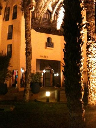 Hotel Marrakech le Tichka: entrer hotel