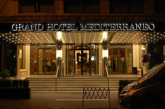 FH Grand Hotel Mediterraneo: the hotel front
