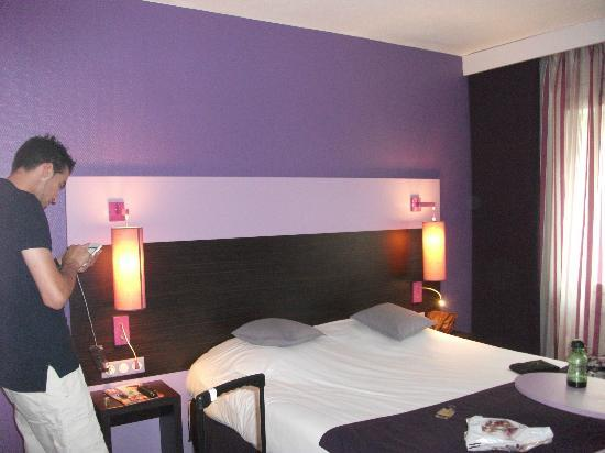 Ibis Styles Marseille Centre Prado Castellane: La chambre