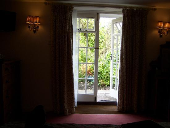 Masons Arms: looking out of room 7
