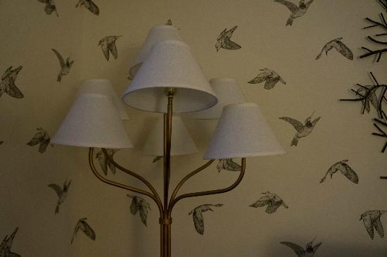 Kimpton Hotel Monaco Portland: nice lamp