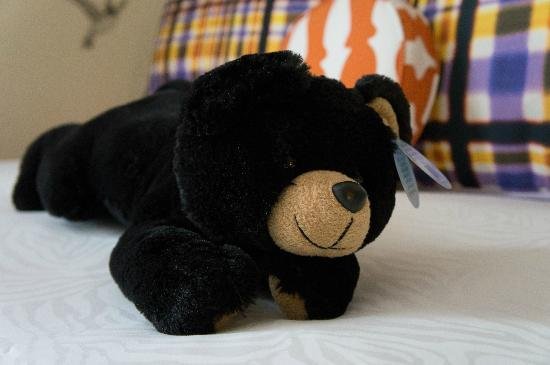 Kimpton Hotel Monaco Portland: they have this cute stuffed bear