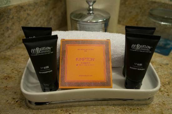 Kimpton Hotel Monaco Portland: toiletry
