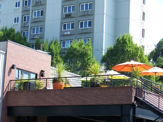 Inn at Northrup Station: The Roof Terrace