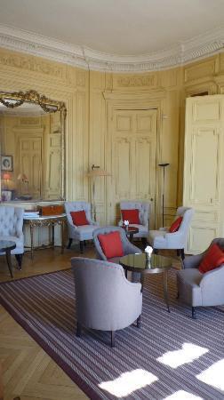 Domaine de la Tortiniere: Nice lounge