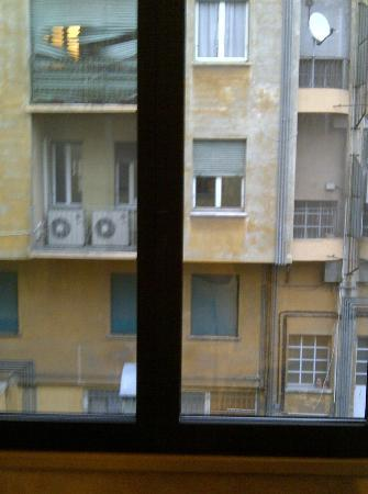 Astra Hotel: View from my Window
