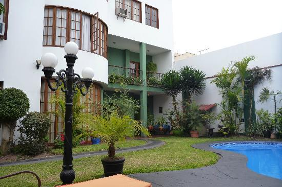 Peru Star Botique Apartments Hotel: The Courtyard