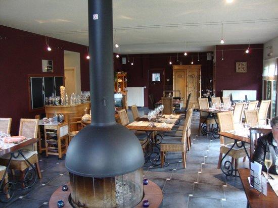 Comines-Warneton, Belgie: vue intérieure du restaurant