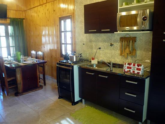 Costa del Sol Iguazu: Comedor de la Cabaña Lapacho