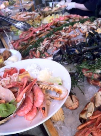 Bryggargatan Restaurang & Bistro : Skaldjursbuffe