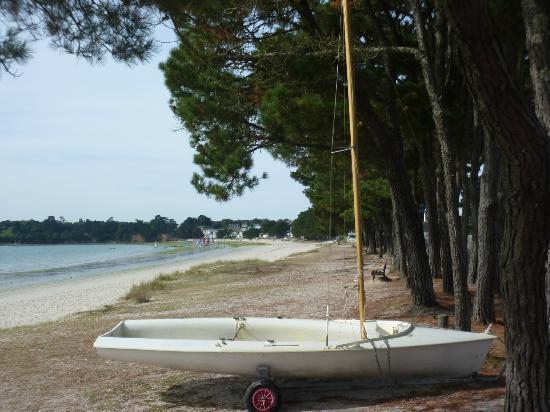 Pierre & Vacances Résidence Cap Azur : La plage en face