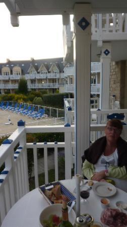 Pierre & Vacances Résidence Cap Azur : Balcon