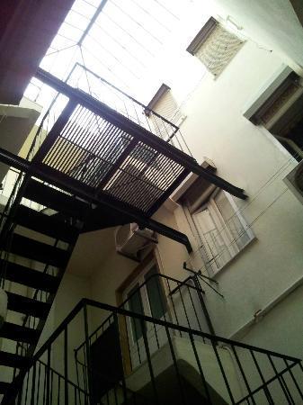 Residencial Joao XXI: L'atrio interno