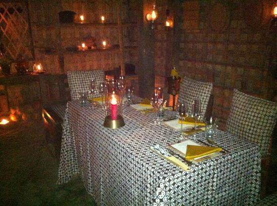 Amanjiwo Resorts : Fabulous Pak Bilal's dinner