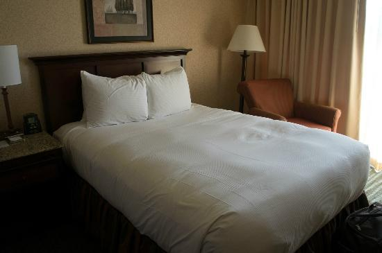 Hilton Eugene: queen bed