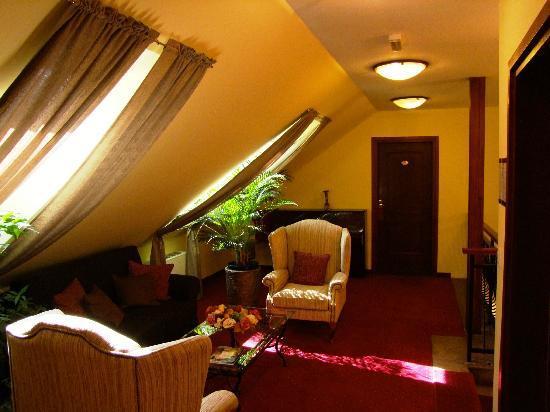 Hotel Jagerhorn: Pasillo