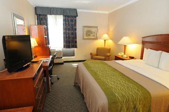 The Comfort Inn & Suites Anaheim, Disneyland Resort: Standard King Bed