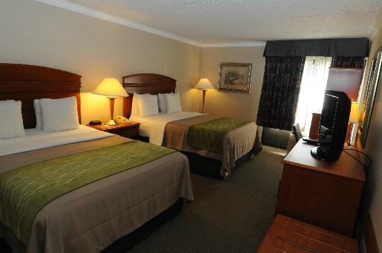 The Comfort Inn & Suites Anaheim, Disneyland Resort: View Side 2 Queen Beds