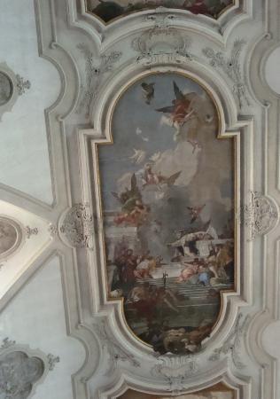 Chiesa dei Gesuati o Santa Maria del Rosario: Ceiling panel - Santa Maria del Rosario
