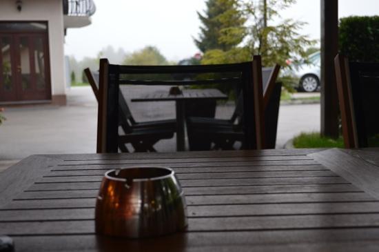 Ahotel Hotel Ljubljana: il patio