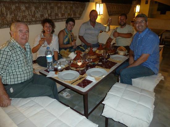 Riad Noos Noos: Cena en la terraza