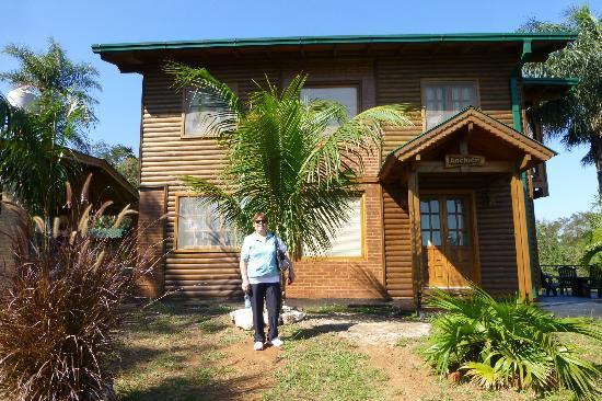 Costa del Sol Iguazu: Frente de la cabaña