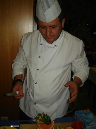 Arma's Resort Hotel: chef suleiman