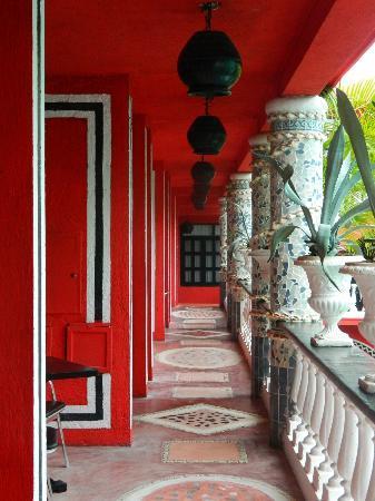 Hotel Jungla Caribe: Balcony