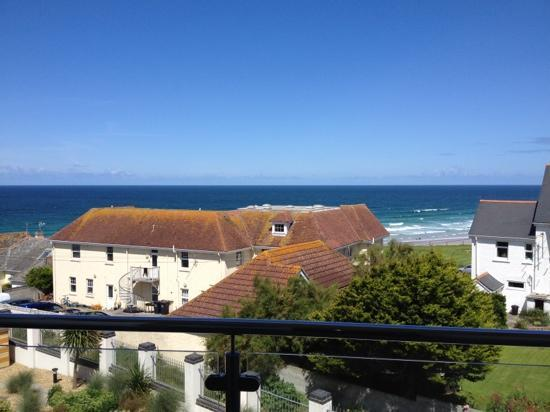 Natural Retreats Fistral Beach: view