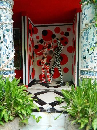 Hotel Jungla Caribe: amazing decor