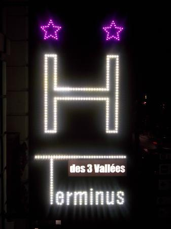 Le Terminus des 3 vallees : OUTSIDE