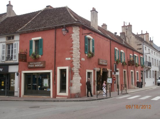 piqu'boeuf : A nice place to get a steak in Beaune