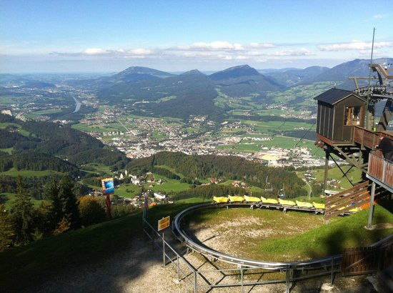 Bad Durrnberg, Austria: from the top