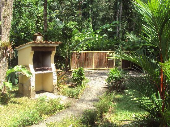 La Perla del Caribe: the garden