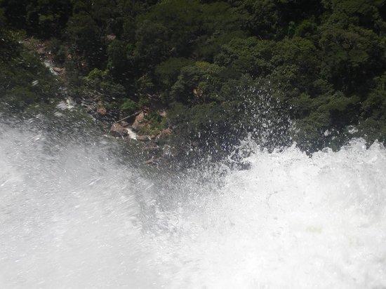 Salto do Itiquira Falls: A queda d'água vista por cima. Esse lugar é muito perigoso. Não se arrisque sem um guia.