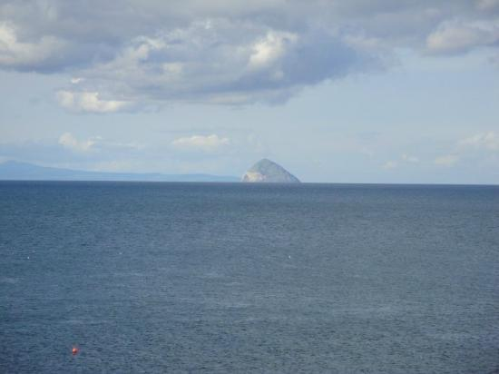 Corsewall Lighthouse Hotel: Ailsa Craig