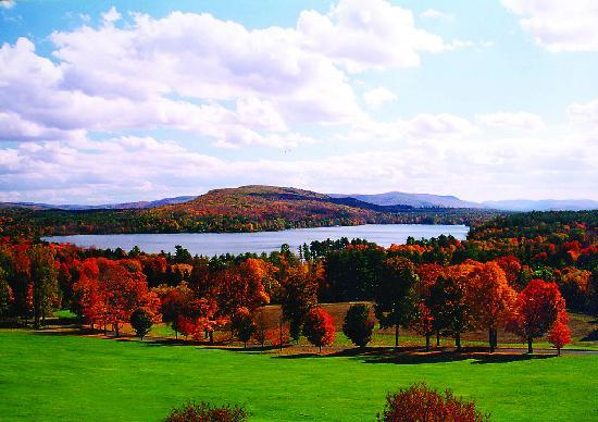 Fall Landscape In The Berkshires Picture Of